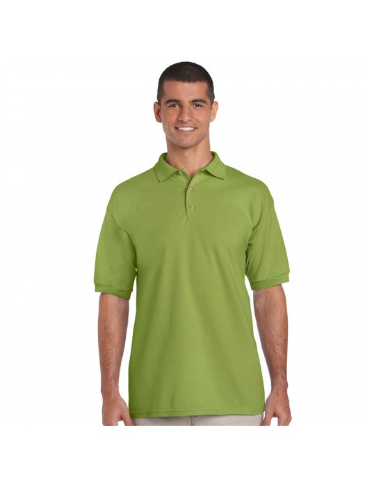 Plain Kiwi Polo Shirts