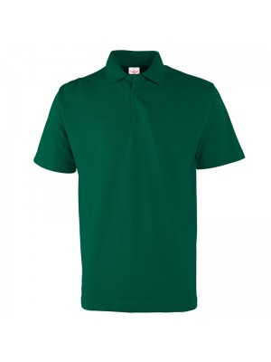 Plain Bottle Green Polo Shirts