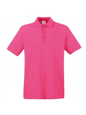 Plain Fuchsia Polo Shirts