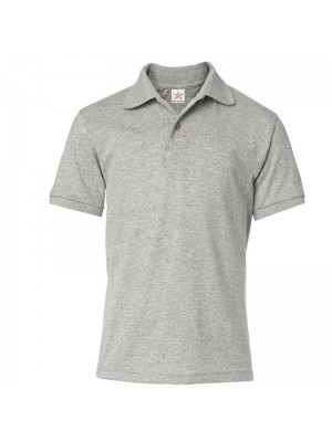 Heather Grey Polo Shirts