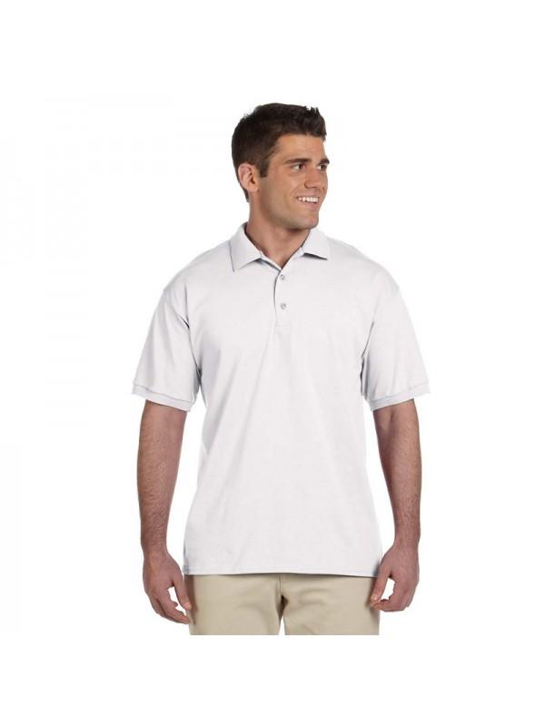 Plain White Polo Shirt, £2.50 Plain White Pique Polo T-Shirt