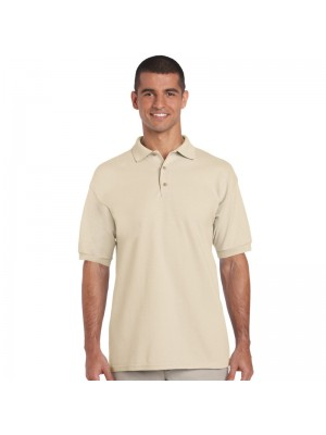 Plain Gildan Sand Polo Shirts