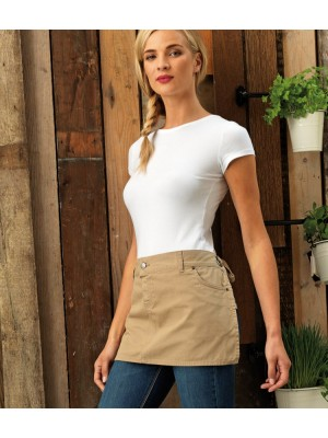 Plain COTTON CHINO WAIST APRON PREMIER 235 GSM