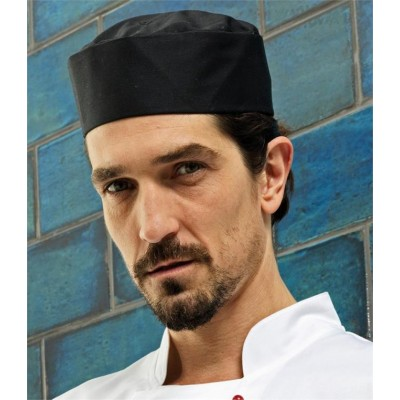 Plain TURN-UP CHEF'S HAT PREMIER 195 GSM