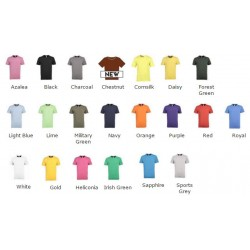 Gildan Premium cotton t-shirt cotton adult t-shirt