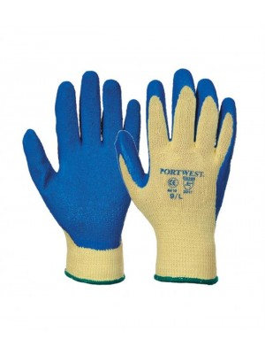 Plain KEVLAR LATEX GRIP GLOVES PORTWEST 150 GSM