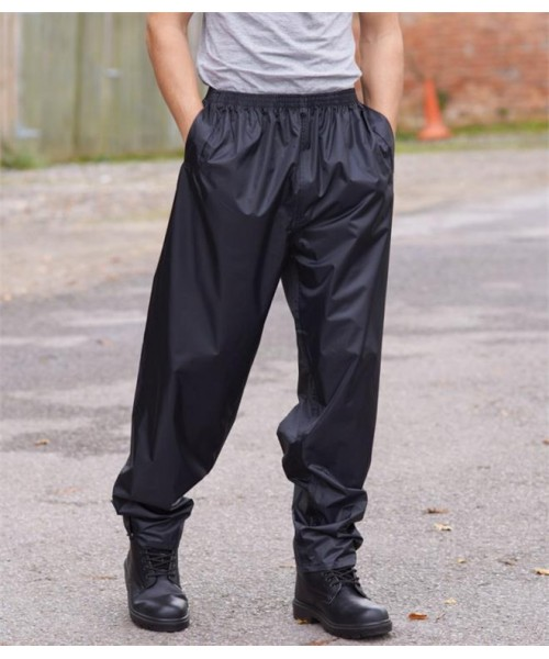 Plain CLASSIC RAIN TROUSERS PORTWEST 150 GSM