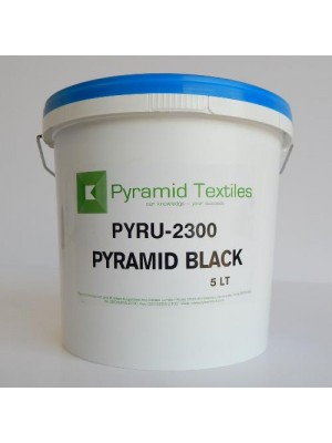 Quality Pyramid brand plastisol ink in Black