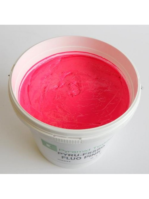 Quality Pyramid brand plastisol ink in Flour Pink