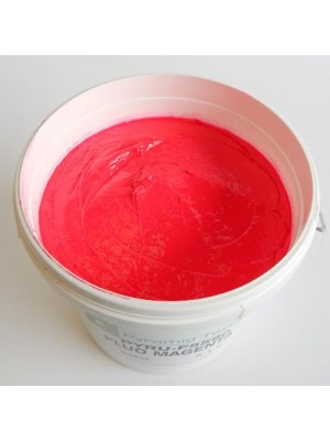 Quality Pyramid brand plastisol ink in Flour Magenta
