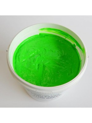 Quality Pyramid brand plastisol ink in Flour Green