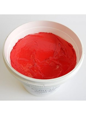 Quality Pyramid brand plastisol ink in Bright Red
