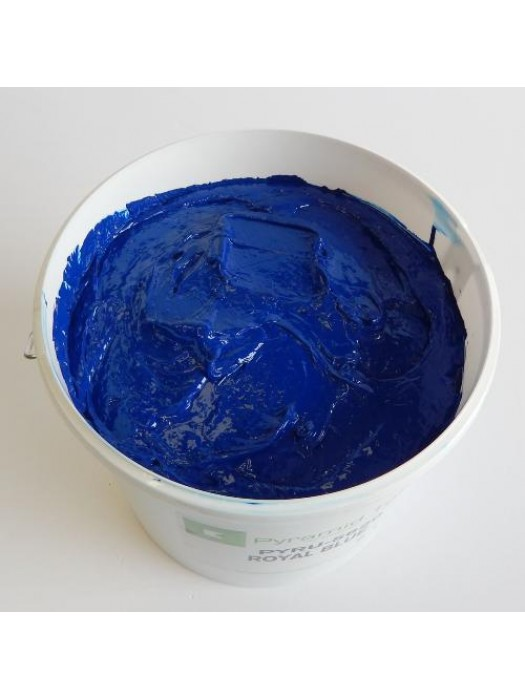 Quality Pyramid brand plastisol ink in Royal Blue