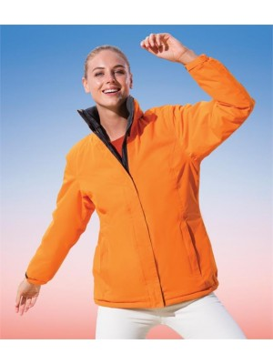 Plain LADIES ALEDO WATERPROOF JACKET REGATTA STANDOUT