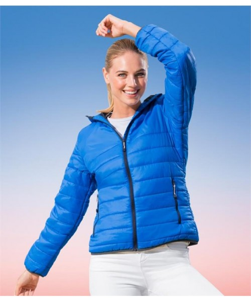 Plain LADIES ACADIA DOWN-TOUCH PADDED JACKET REGATTA STANDOUT