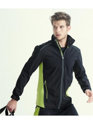 Plain SOCHI SOFT SHELL JACKET REGATTA ACTIVEWEAR 405 GSM