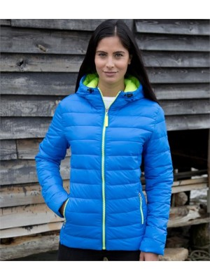 Plain LADIES URBAN SNOW BIRD PADDED JACKET RESULT