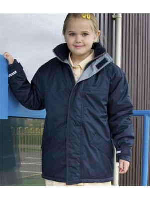 Plain CORE KIDS WINTER PARKA JACKET RESULT