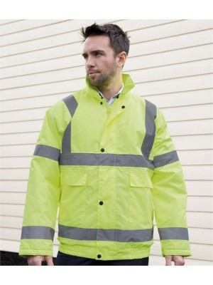 Plain CORE HIGH VIZ WINTER BLOUSON JACKET RESULT