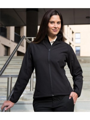 Plain CORE LADIES PRINTABLE SOFT SHELL JACKET RESULT 280 GSM