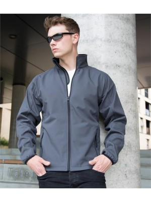 Plain CORE PRINTABLE SOFT SHELL JACKET RESULT 280 GSM
