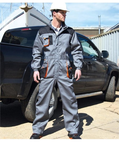 Plain WORK-GUARD LITE UNISEX COVERALL RESULT 200 GSM