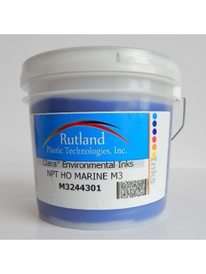 Rutland M3 NPT HO BLUE RS#2 plastisol screen print ink