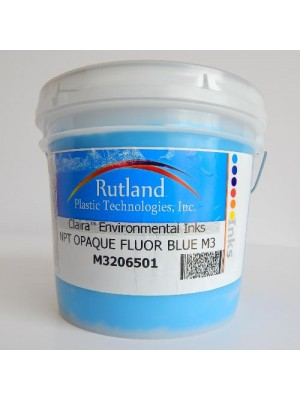 Rutland M3 NPT HO BLUE RS#1 plastisol screen print ink