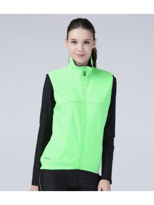 Plain LADIES AIRFLOW SOFT SHELL GILET SPIRO