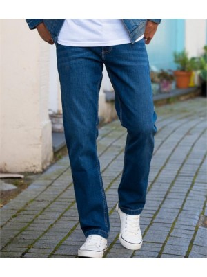 Plain MENS LEO STRAIGHT JEANS SO DENIM