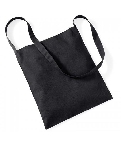 Black Westford Mill Sling cotton tote bag