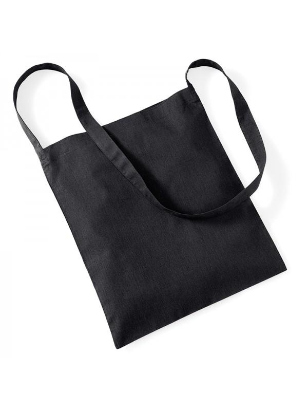 ea6132f0742a Black Westford Mill Cotton Sling Tote Bag £1.70