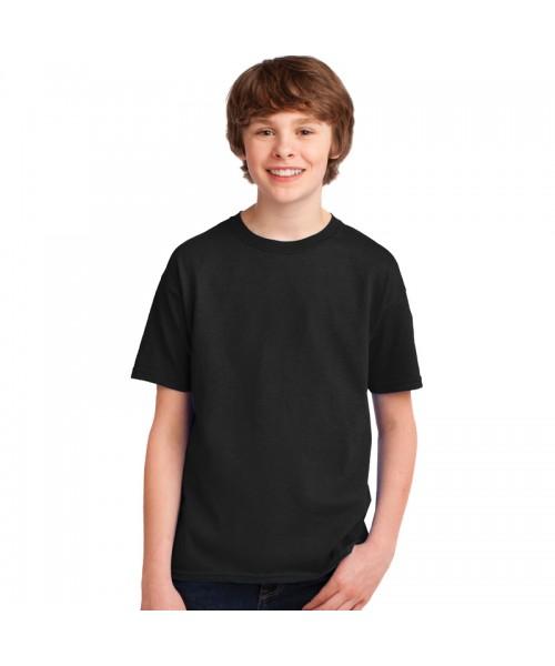 Plain Kids T-Shirts in Rich 100% Cotton