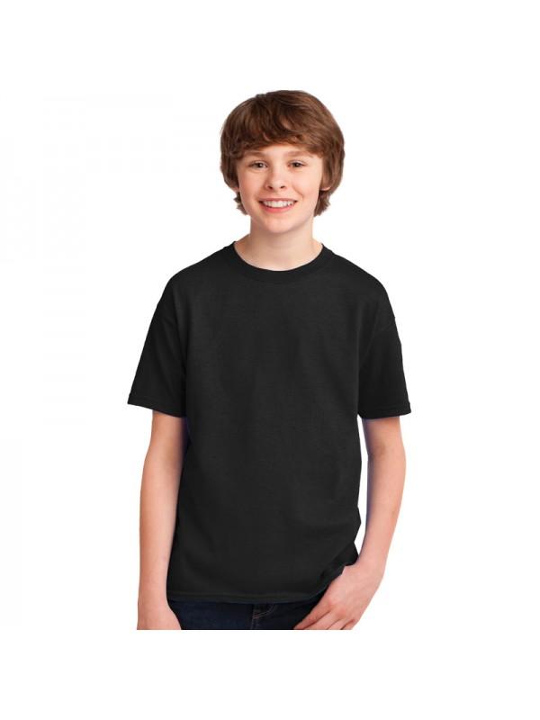 Plain kids t shirts in rich 100 cotton for Plain t shirt brands