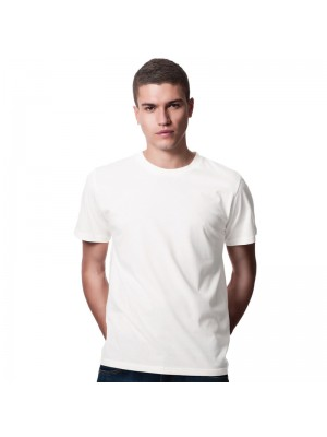SnS 100% Rich Soft Ring spun White Cotton T-Shirt