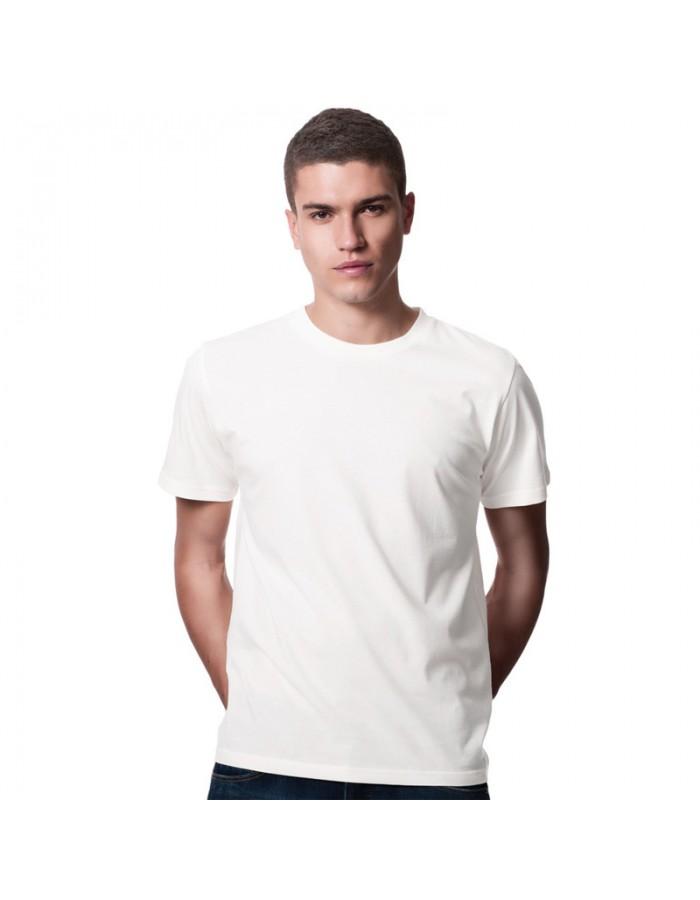 SnS 100% Rich Soft Ring spun White Cotton T-Shirt