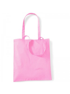 Classic Pink Westford Mill Cotton Promo Tote Bag