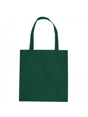 Bottle Green SnS Event 100% woven durable cotton tote bag