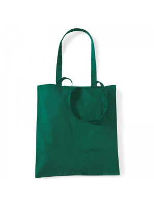 Bottle Green Westford Mill Cotton Promo Tote Bag
