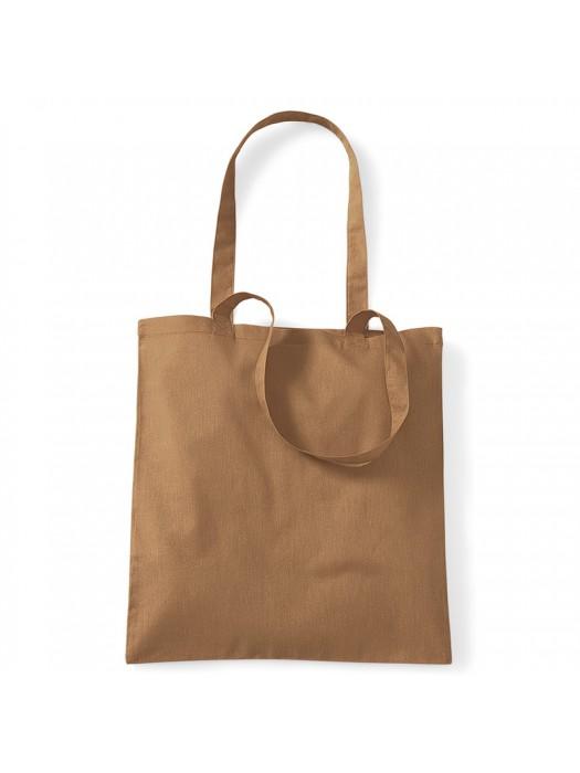 Caramel Westford Mill Cotton Promo Tote Bag