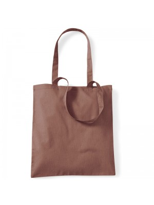 Chestnut Westford Mill Cotton Promo Tote Bag