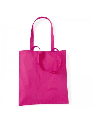 Coral Westford Mill Cotton Promo Tote Bag