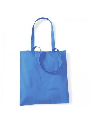 Cornflower Blue Westford Mill Cotton Promo Tote Bag