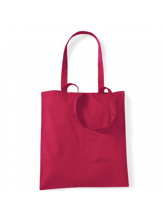 Cranberry Westford Mill Cotton Promo Tote Bag