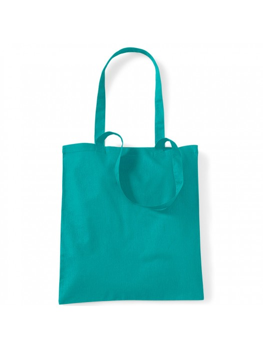 Emerald Westford Mill Cotton Promo Tote Bag