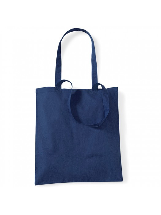 French Navy Westford Mill Cotton Promo Tote Bag