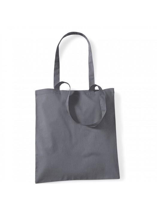 Graphite Grey Westford Mill Cotton Promo Tote Bag