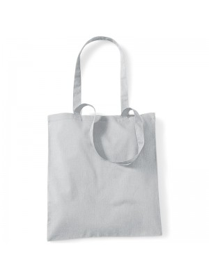 Light Grey Westford Mill Cotton Promo Tote Bag