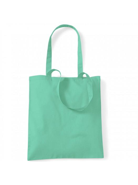 Mint Westford Mill Cotton Promo Tote Bag