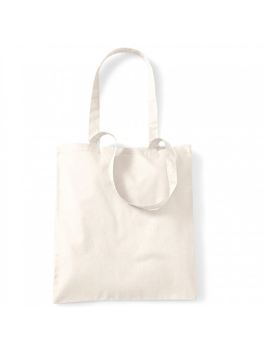 Natural Westford Mill Cotton Promo Tote Bag